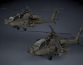 3D AH-64A Apache