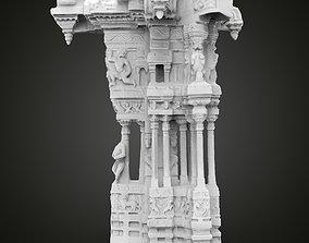 Musical Pillar Hampi replica 3D print model