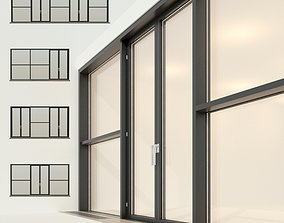 Panoramic glazing Stained glass 24 3D model