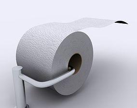 3D model Toilet Tissue Paper 01
