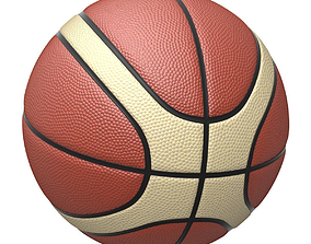 3D model Basketball with two colors