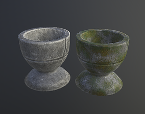 3D asset Stone Cup