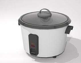 3D asset rice cooker