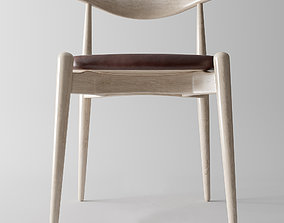 Hans Wegner Elbow chair 3D