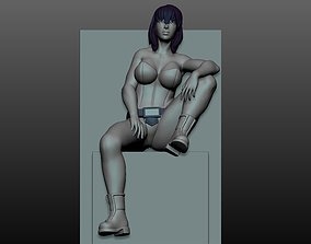 3D print model Motoko- ghost in the shell