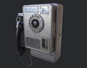 3D model Payphone ATM 47 USSR
