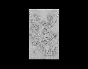 The Archangel Michael Triumphing Over Satan 3D print model