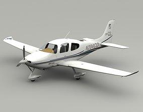 3D model Cirrus SR22 Airplane