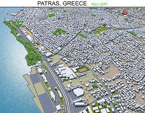 3D model Patras Greece 20km