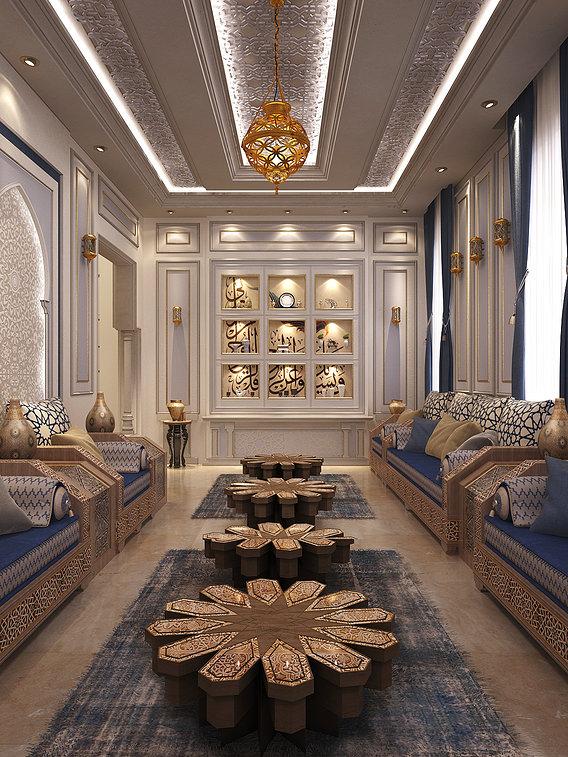 Moroccan Divan (livingroom)