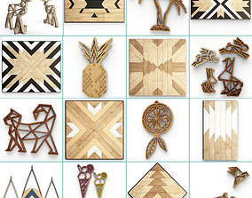3D Wooden Decoration