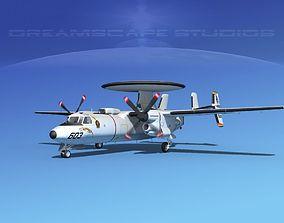 Grumman E-2C Hawkeye V05 3D