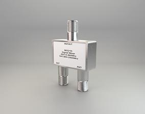 antenna splitter 3D model