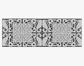 3D model Celtic Ornament viking baroque