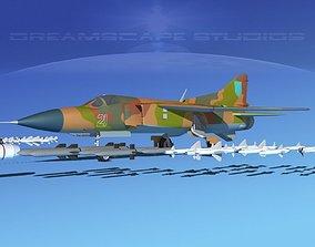 3D model Mig-23 Fighter Ukraine