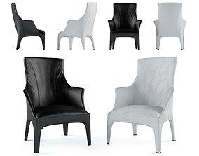Chair Giorgetti Minerva 70710 3D model