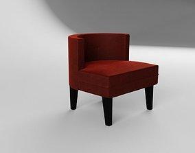 3D Williams Sonoma Geoffrey Chair