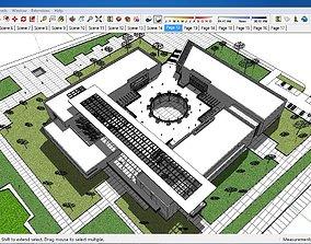 3D model Sketchup Museum 119