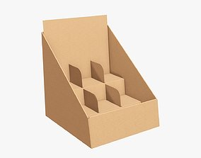 3D Cardboard product display stand 03