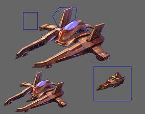 Small attack ship 01 3D