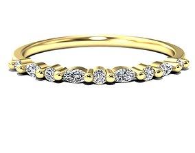 3D print model diamond ring luxury