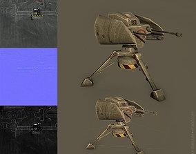 Guns turret 3D model