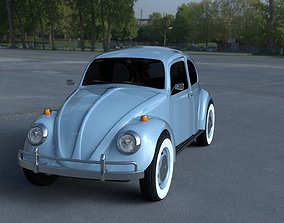 VW Beetle HDRI 3D