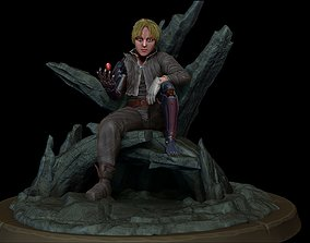 3D model Edward Elric Full Metal Alchemist
