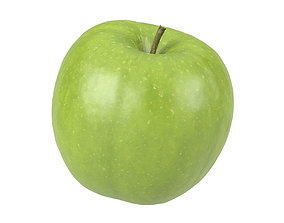 Photorealistic Apple 3D Scan 2