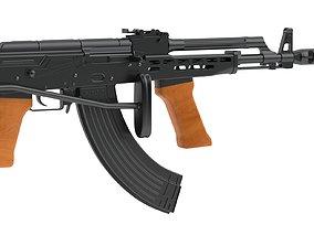 AMD-65 Assault Rifle 3D model
