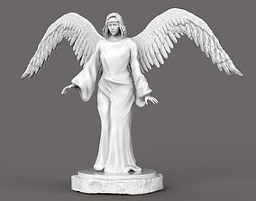 3D asset The Angel Statue