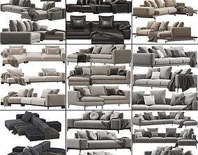 3D model Sofa set 9
