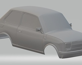 Fiat 126 Printable Body Car
