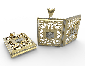 printed 3D printable model Muslim Pendant Jewelry