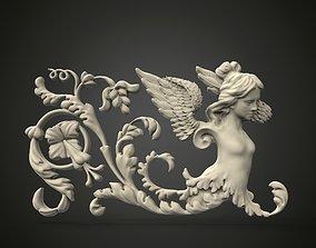 Classical Bas-relief 3D print model