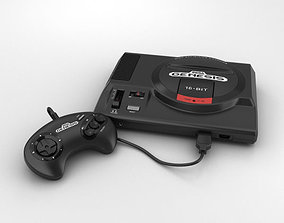 Sega Genesis 3D model