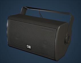 Speaker Game Ready 3D asset