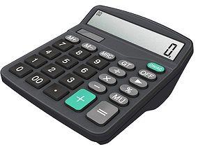 digital 3D model Calculator