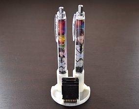 3D printable model Display Type Pen Stand