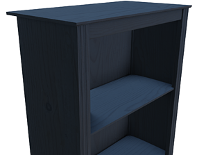 3D model Bookself with a classical design