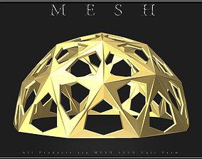 Stars Ball - Half 3D asset