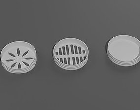 3D print model Shower Drain Covers - Bathroom Floor Drain