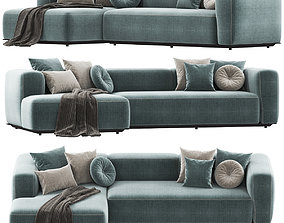 3D model Bebitalia Outdoor HYBRID sofa