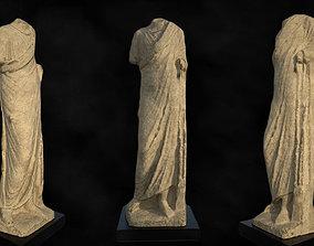 Hellenistic Period Statue 3D asset
