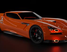 3D asset Alfa Romeo Montreal Vision GT