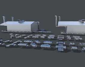 Ventilation Duct PACK 3D model