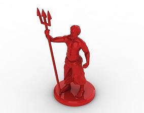 Poseidon 3D print model