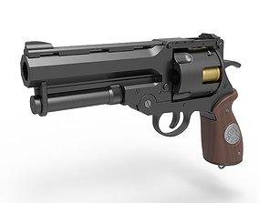 3D Samaritan Revolver from the movie Hellboy 2004