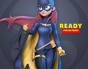 Bat girl 3D print model