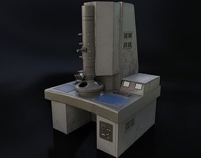 Old Dirty Electron Microscope 3D model